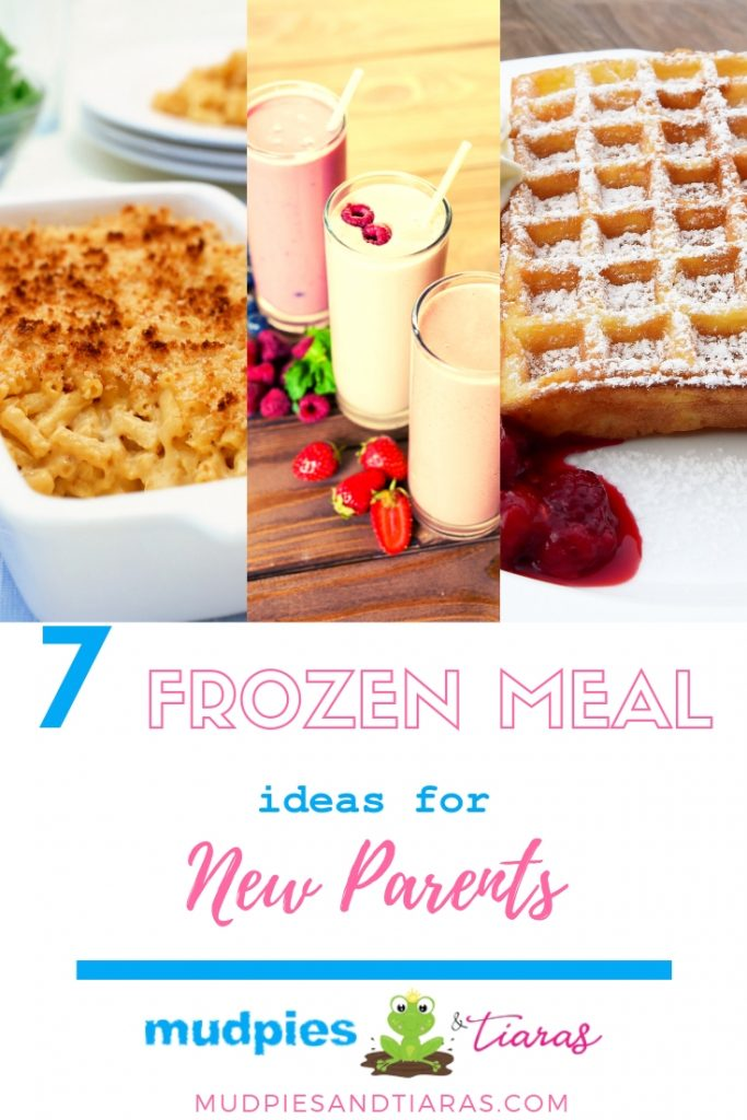 frozen meal ideas for new parents
